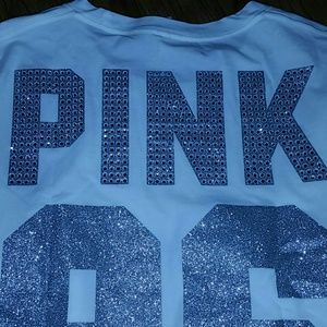 PINK Victoria's Secret Pants - BNWT VS Pink Bling Tee with Colorblock Leggings